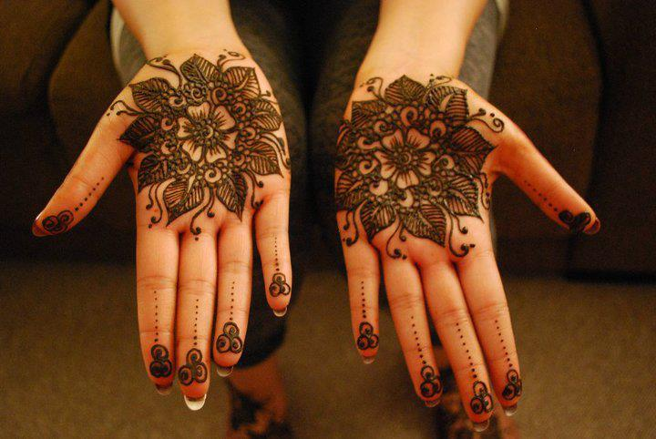 Latest Flower Mehndi Design : New latest london mehndi designs u india pakistan design