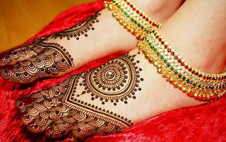 Mehndi Designs Feet N : India pakistan mehndi design u mehndidesign patterns